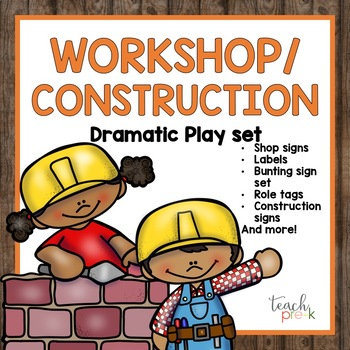 Construction/Workshop Dramatic Play Set!
