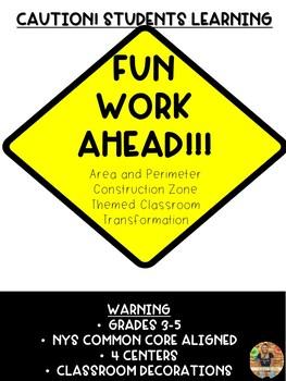 Construction Zone Area and Perimeter