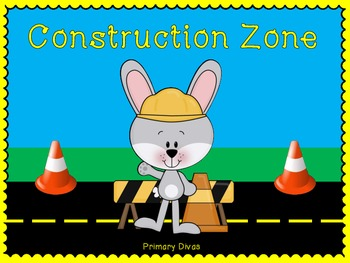 Construction Zone - ELA and Math Centers for the Primary C