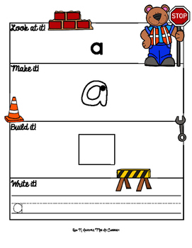 Construction Zone: Sight Word Mats! Pre-Primer Edition
