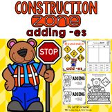 Construction Zone {adding -es!}