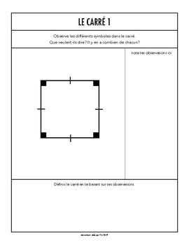 Construction de polygones - Document de travail