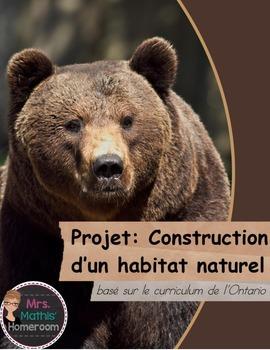 Construction d 39 un habitat by mrsmathishomeroom teachers pay teachers for Construction habitat