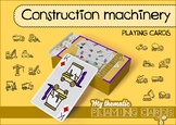 Construction machinery Themed Playing Cards Deck