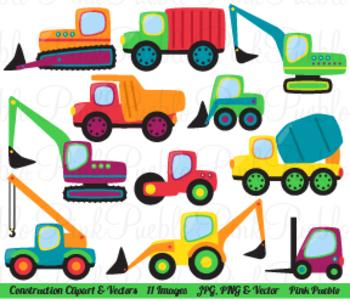 Construction or Transportation Clipart Clip Art