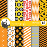 Construction papers, commercial use, scrapbook papers - PS734