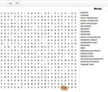 Construction & the Built Environment Level 3 Interactive 7 Word Search Bundle