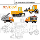 Construction truck clip art
