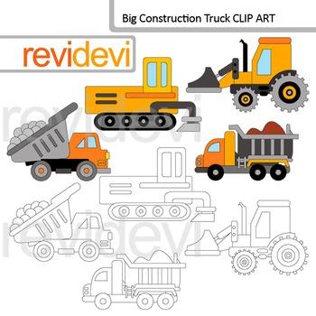 Construction truck clip art