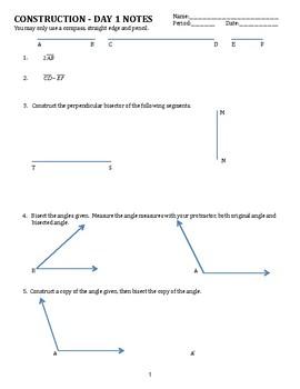 Geometry Constructions