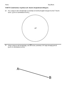 Constructions Assessment