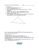 Constructions- Circumcenter, Incenter and Tangent Lines