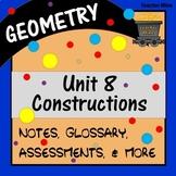 Constructions (Geometry - Unit 8)