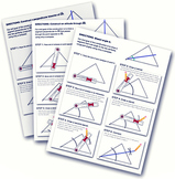 Constructions Handout– Angle Bisectors, Perpendicular Bise