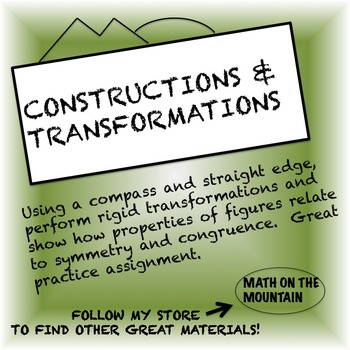 Constructions and Transformations