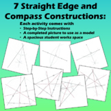 7 Constructions with a Straight Edge and Compass