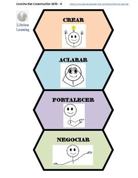 Constructive Conversation Skills for Kindergarten-Spanish