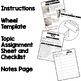 Constructive, Deconstructive Activity, Wheel of Knowledge Interactive Notebook