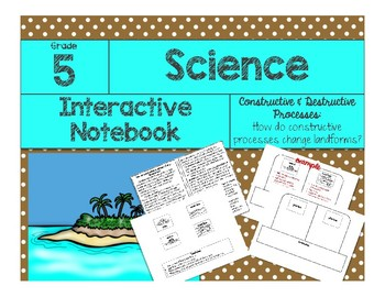 Constructive & Destructive: How do constructive processes change landforms?