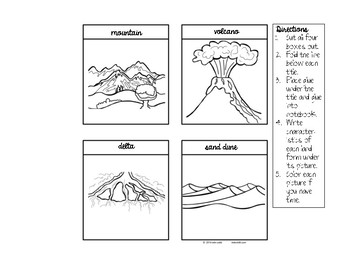 Constructive & Destructive Processes: What are the earth's landforms?