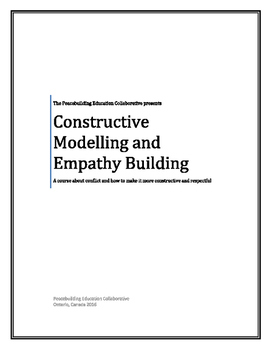 Constructive Modelling and Empathy Building