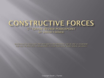 Constructive Forces Review Powerpoint