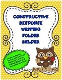 Constructive Response Writing Folder Helper