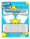 Constructive Response with RACES Graphic Organizer for Wonder by R.J. Palacio