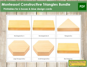 Constructive Triangles Bundle (all 6 boxes)