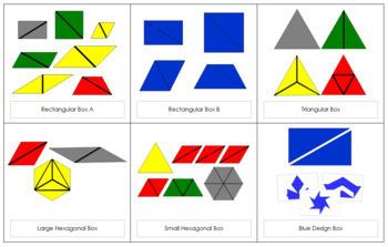 Montessori Constructive Triangles Bundle (6 boxes)