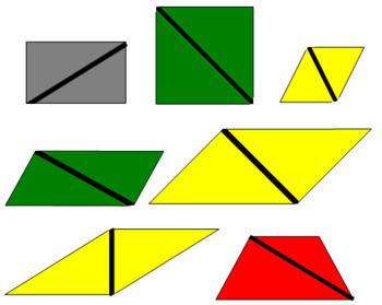 Constructive Triangles - Rectangular Box A
