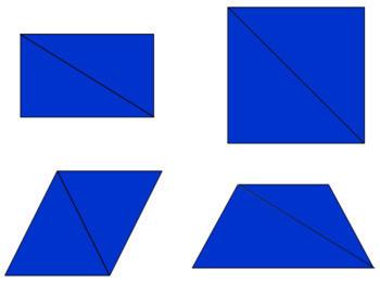 Constructive Triangles - Rectangular Box B