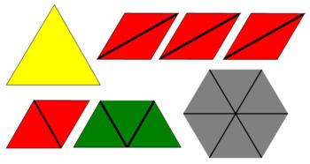 Constructive Triangles - Small Hexagonal Box