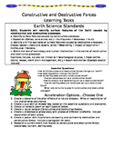 Constructive and Destructive Forces Learning Tasks