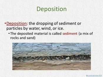 Earth Science: Deposition by Water, Wind, and Glaciers