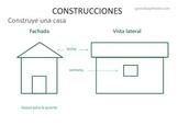 Constructores: una casa y una pirámide