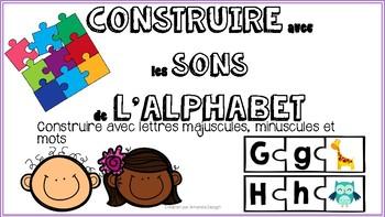 Construire avec les sons de l'alphabet