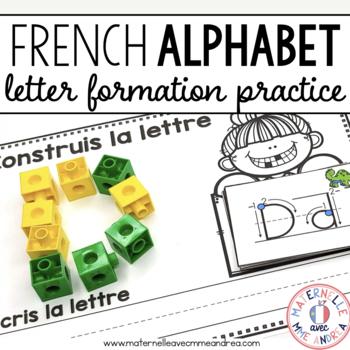 Construisons les lettres - Activité indépendante (FRENCH Letter Formation)