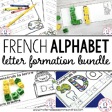 Construisons les lettres - THE BUNDLE (FRENCH Letter Forma