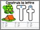 Construisons les lettres - Tapis de formation (FRENCH Letter Formation Mats)