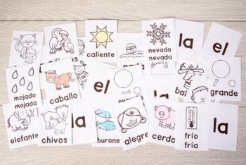 Construye una oración: Practica adjetivos, sustantivos, verbos, y más gramática!