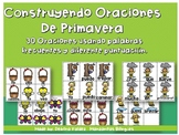Building Sentences in Spanish (Construyendo Oraciones SPRING)