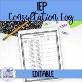 Consultation Log