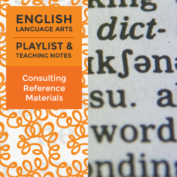 Consulting Reference Materials - Playlist and Teaching Notes