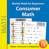 Consumer Addition, Subtraction, & Multiplication: Market Math for Beginners