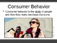 Consumer Behavior and Competition