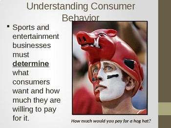 Consumer Behavior and Competition in Sports and Entertainment