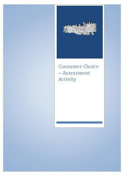 Consumer Choice - Assessment Activity