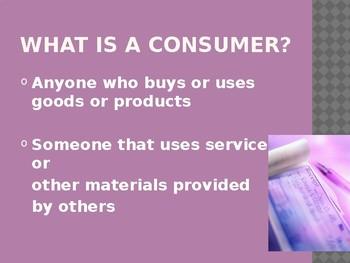 Consumer Choices