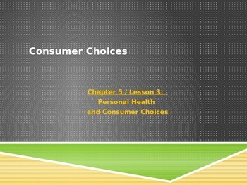 Consumer Choices and Advertisements